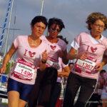 Femmes en pleine course