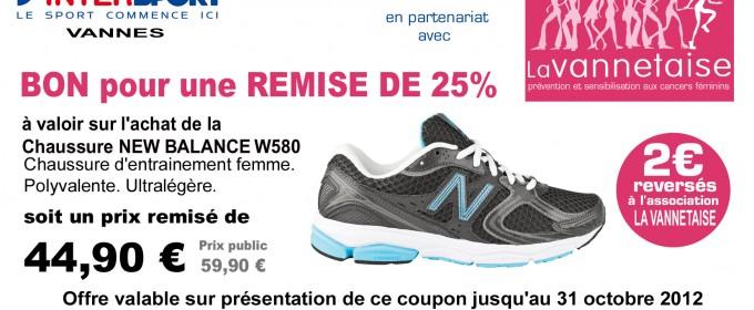 chaussures new balance vannes