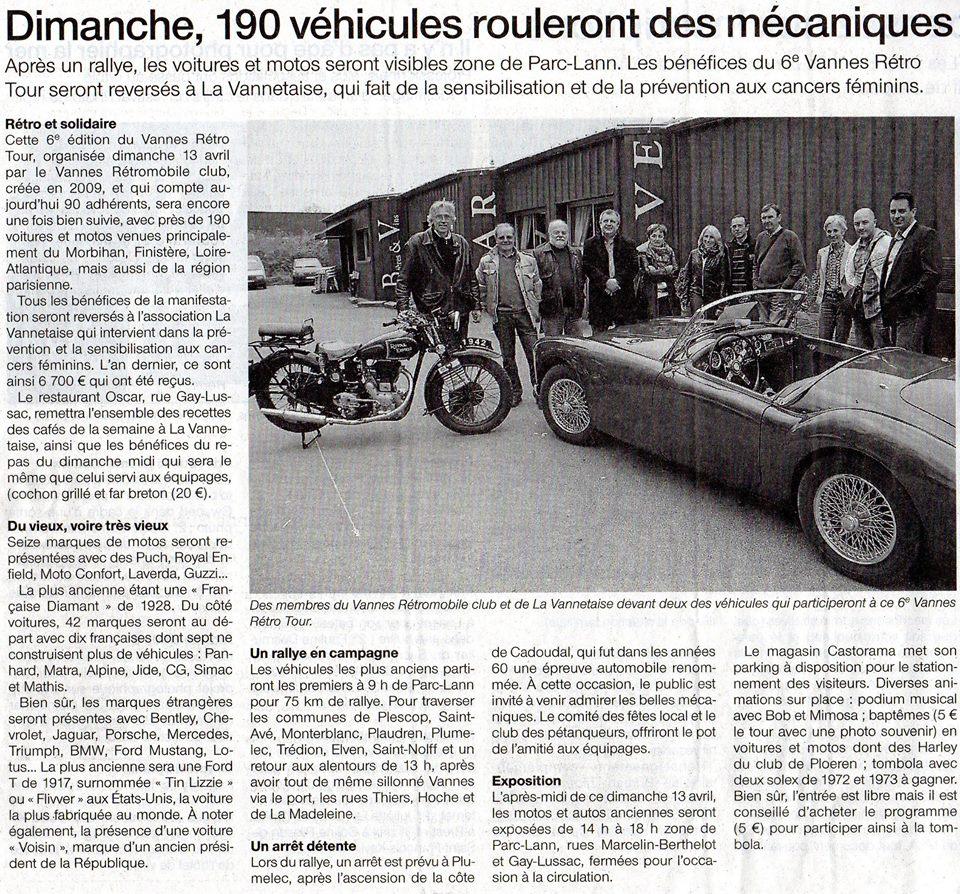 Article du Rallye St Germain