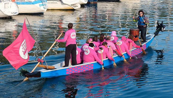 Les Pink Dragon Ladies
