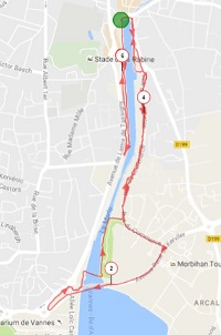 Circuit course et marche du dimanche