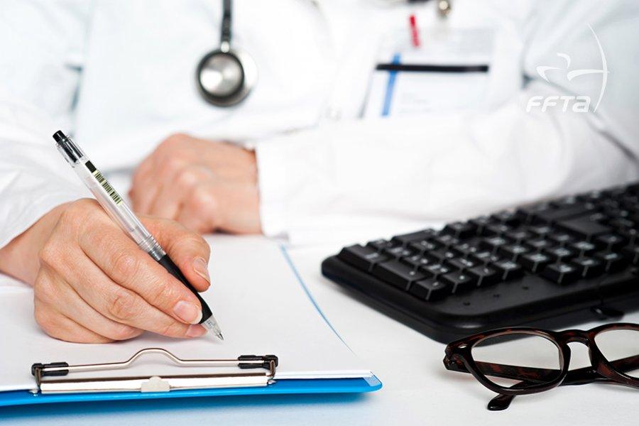Le modèle de certificat médical