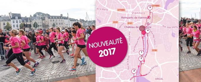 Nouveaux parcours pour la course et les marches du samedi et du dimanche !