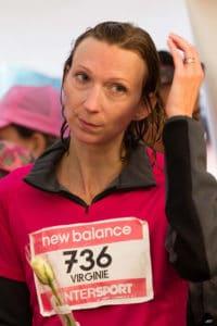 portrait d'une coureuse