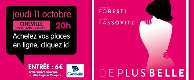 De plus belle, avec Florence Foresti et Mathieu Kassovitz… RDV le jeudi 11 octobre au Cinéville !
