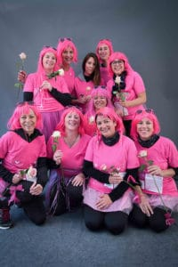 La Vannetaise 2018 - perruques roses