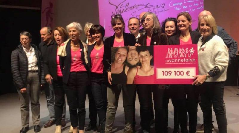 cheque dons La Vannetaise 2018